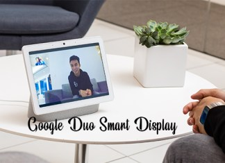 Google Duo Smart Display