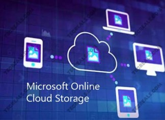 Microsoft Online Cloud Storage