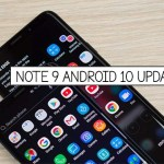 Note 9 Android 10