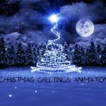 Christmas greetings animation