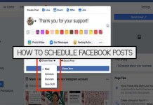 How to Schedule Facebook Posts