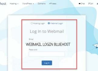 Webmail Login Bluehost