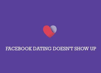 Facebook Dating Doesn't Show Up