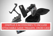 OnePlus 9 Accessories to Include Attachable Game Triggers, Droid Case