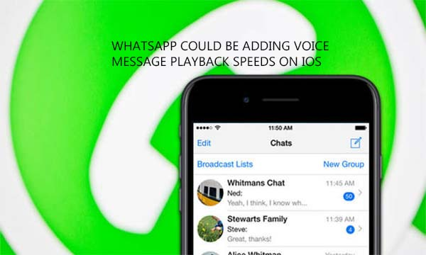 WhatsApp Could be Adding Voice Message Playback Speeds on iOS