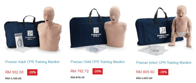 Prestan CPR manikins offer
