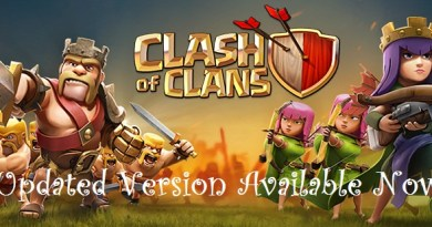 updated version of clash of clans