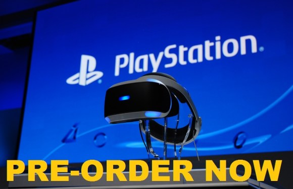 $ 400 PlayStation VR Pre-order will start today