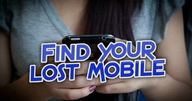 find your lost mobile