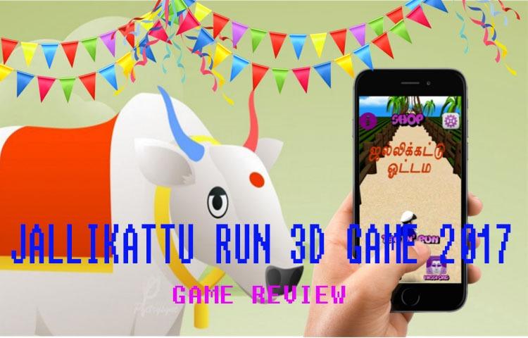JALLIKATTU RUN GAME 3D
