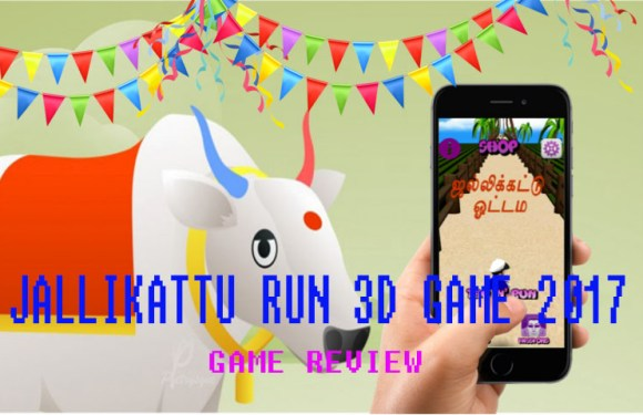 Jallikattu Run 3D Game Review; Tamil tradition can be downloaded too.