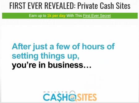 Private Cash Sites Scam