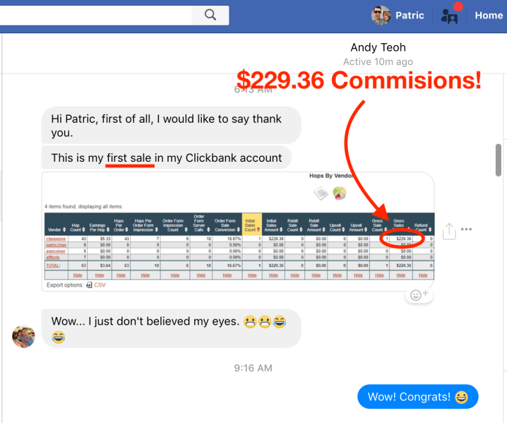CB Passive Income Real Results