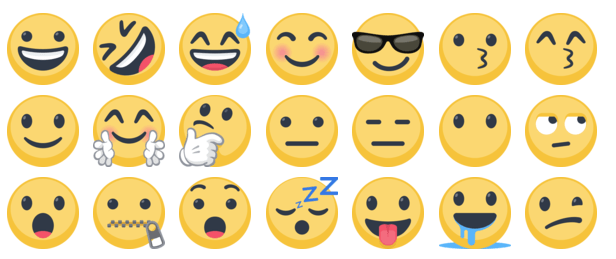 Use Emoticons that Bond with your Audience