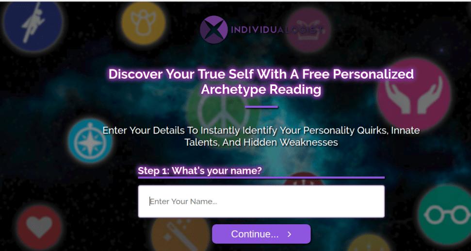 Individualogist website