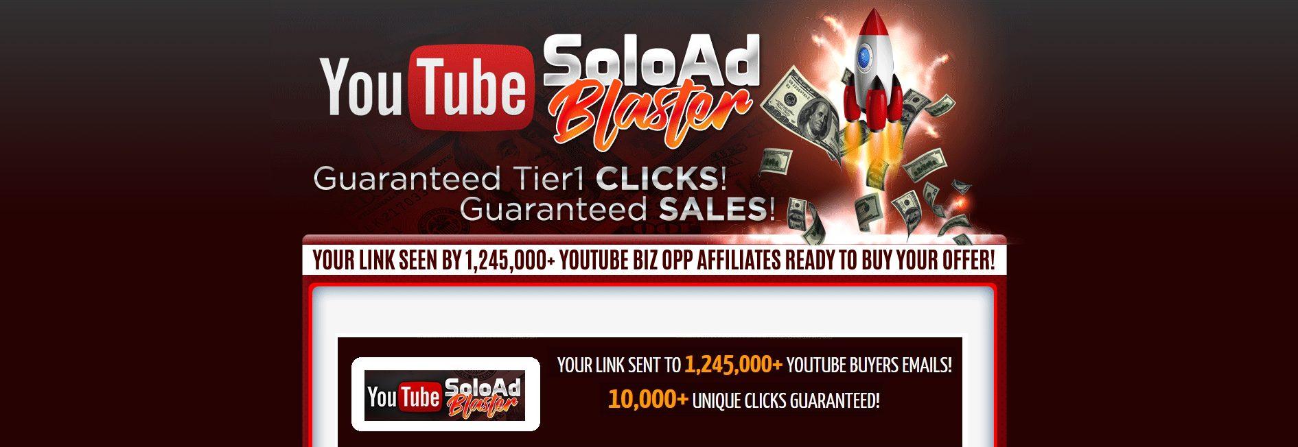 Youtube Solo Ad Blaster software