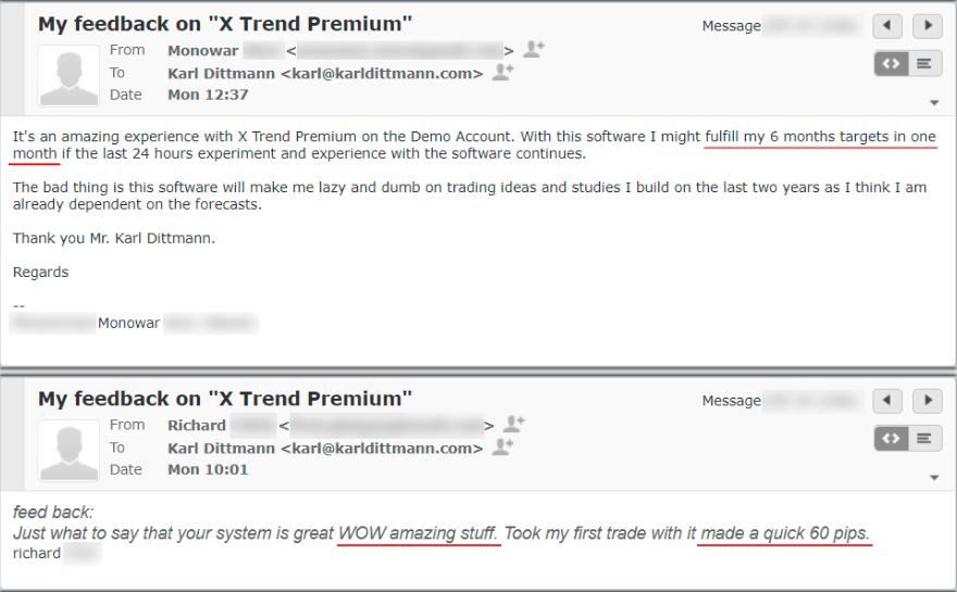 X Trend Premium app review