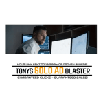 Tonys Solo Ad Blaster review