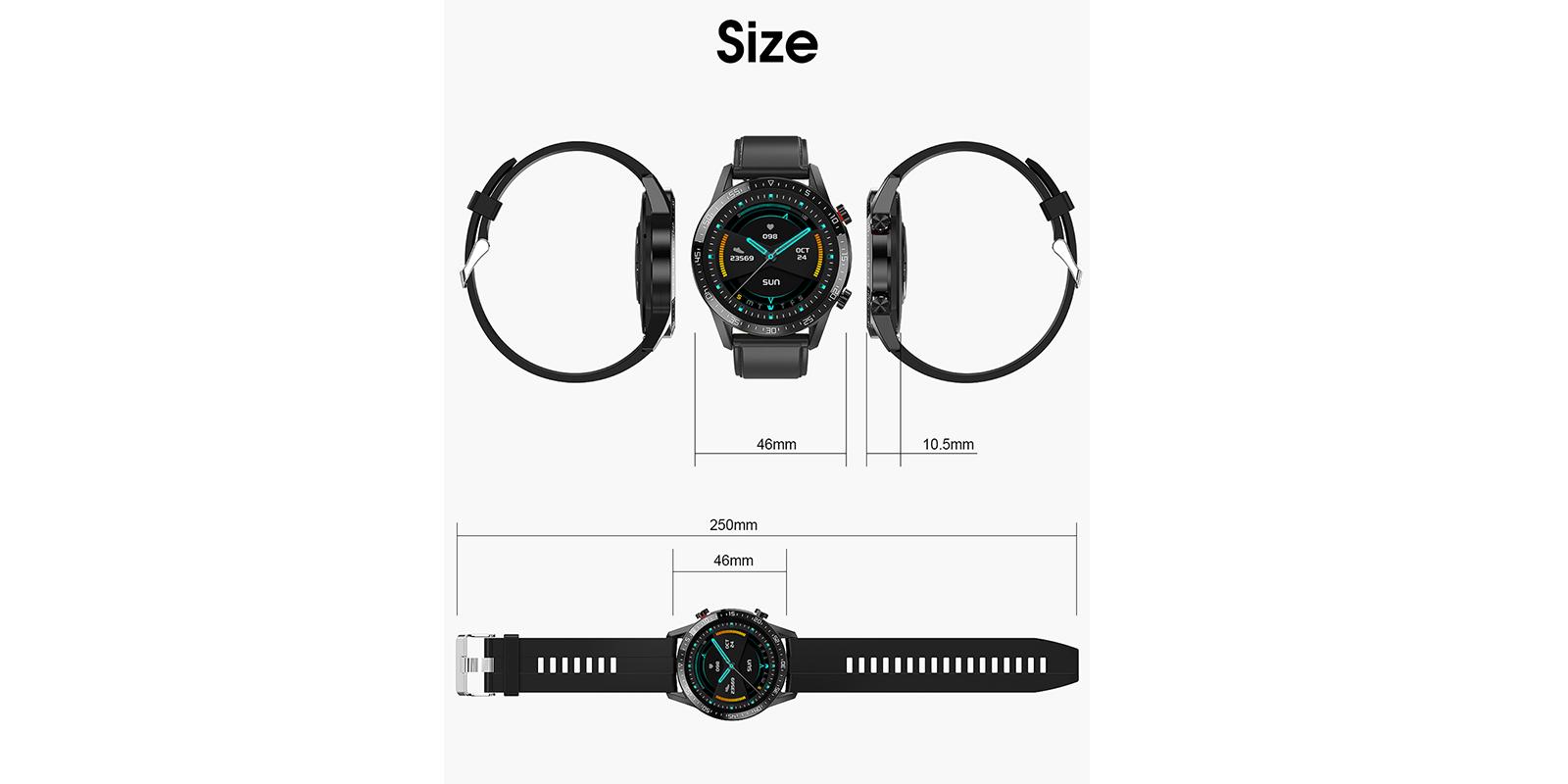 GX Smart Watch specs