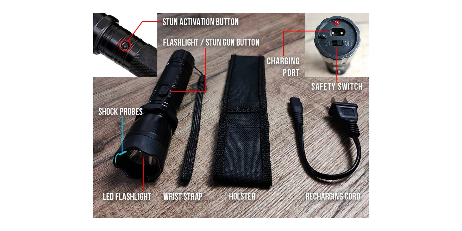 Shockwave Torch Features