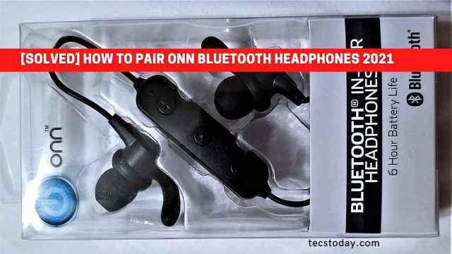 how to pair onn bluetooth headphones