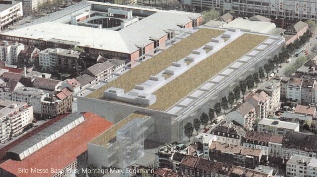 Dachauftrag Messe Basel