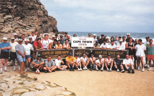 TECTON-Reise 1999, 5. bis 13. Januar