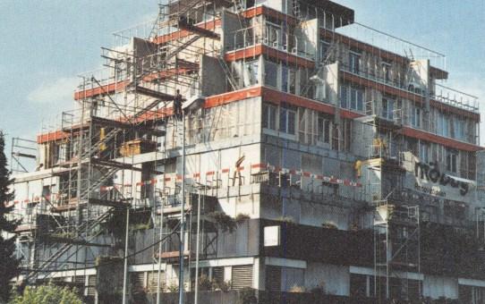 Wohn- und Geschäftshaus Ziggurat in Porrentruy