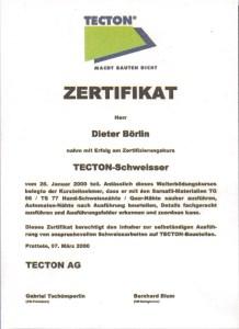TECTON-Schweisser