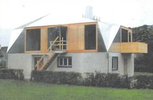 Geklebtes Dach