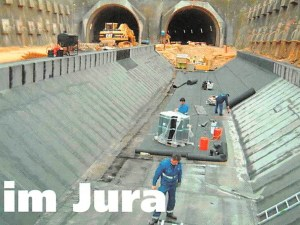 Tunnel im Jura