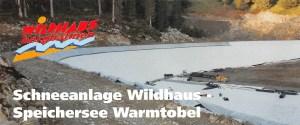 Schneeanlage Wildhaus - Speichersee Warmtobel