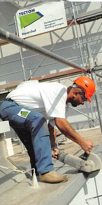TECTON-Dach für Kernkraftwerk Leibstadt