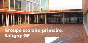 Groupe scolaire primaire, Satigny GE