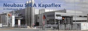 Neubau SIKA Kapaflex in Düdingen (FR)