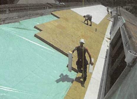 Shed-Dach Sanierung GerolagCenter in Olten