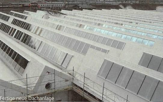 Shed-Dach Sanierung Gerolag Center in Olten