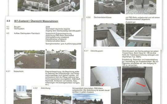 TECTON-Dach© Service Bestandesaufnahme der Dachanlage macht Kosten planbar