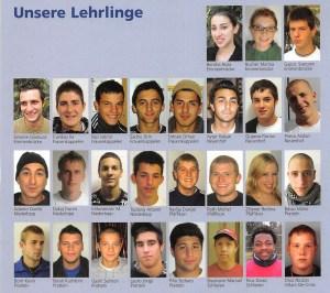 Unsere Lernenden 2009/2010