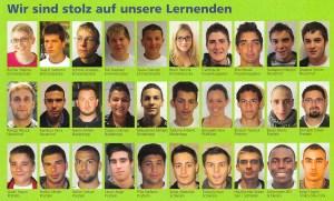 Unsere Lernenden 2011/2012
