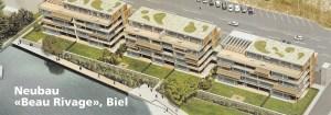 Neubau Beau Rivage Biel