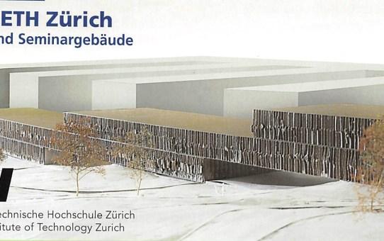 TPO für ETH Zürich - HCP Büro- und Seminarräume