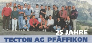 25 Jahre TECTON AG Pfäffikon