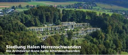 Siedlung Halen Herrenschwanden, die Architektur-Ikone hatte Altersbeschwerden