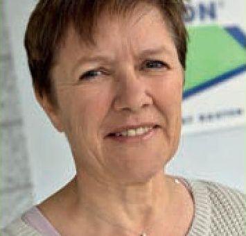 Hilda 'Hildi' Wüthrich - 25 Jahre bei TECTON