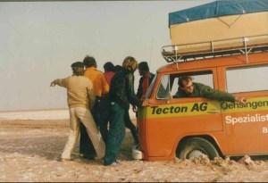 TECTON-Reise 1979 Marokko