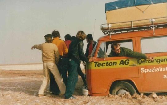 TECTON-Reise 1979 Sahara (Marokko)