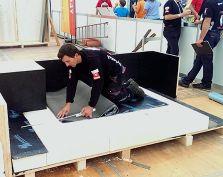 Drin Sadriu an den Swiss Skills 2014