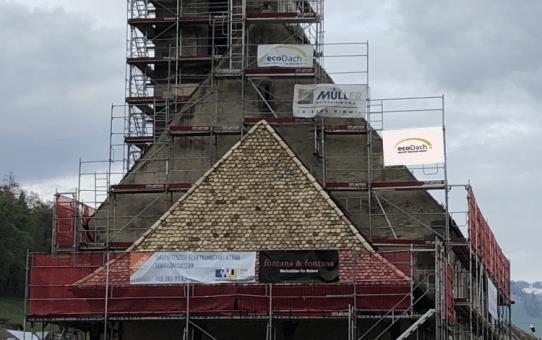 Sanierung Kreuzkirche Uznach