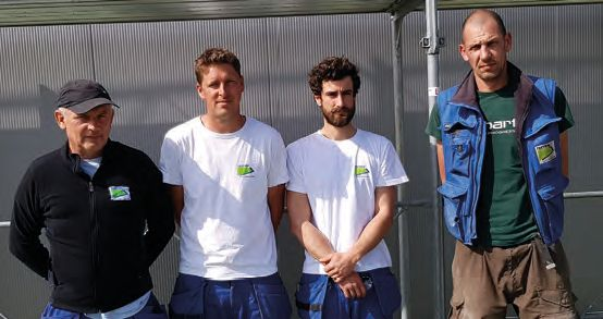 AMAG Neubau Martin Bucher mit Team